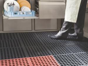Tile for restaurant kitchen floors