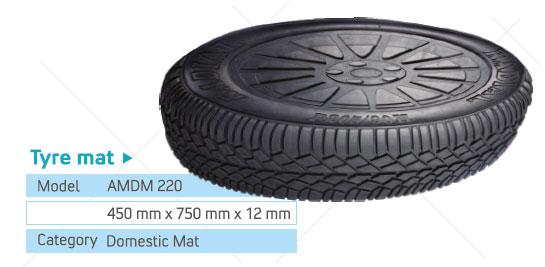 tyre pattern mat