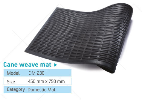 cane weave patterns mat