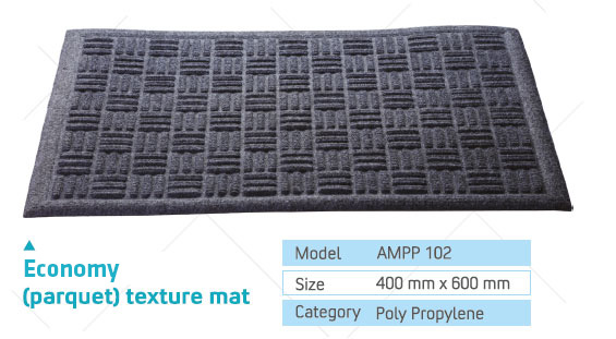 over edge texture mat